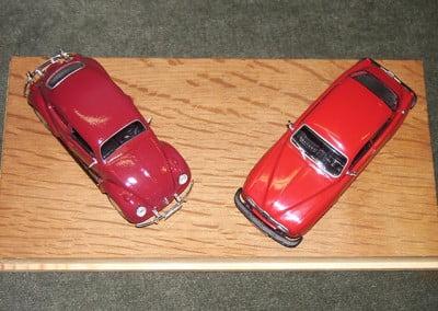 VW ja SAAB-96
