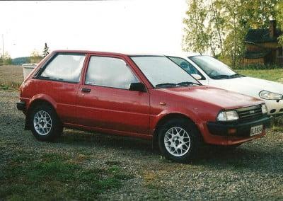 Toyota Starlet, -84